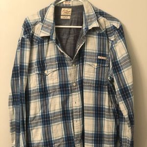 Men's Lucky Brand Button Down Shirt